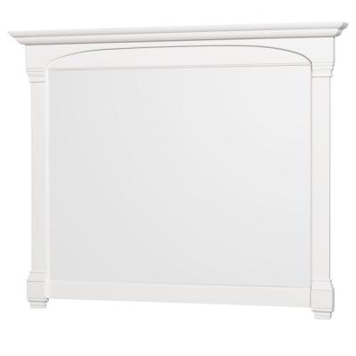 Andover 50 in. W x 41 in. H Framed Rectangular Bathroom Vanity Mirror in White