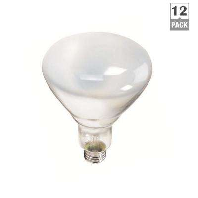 65-Watt BR40 Incandescent Flood Light Bulb Soft White (2700K) (12-Pack)