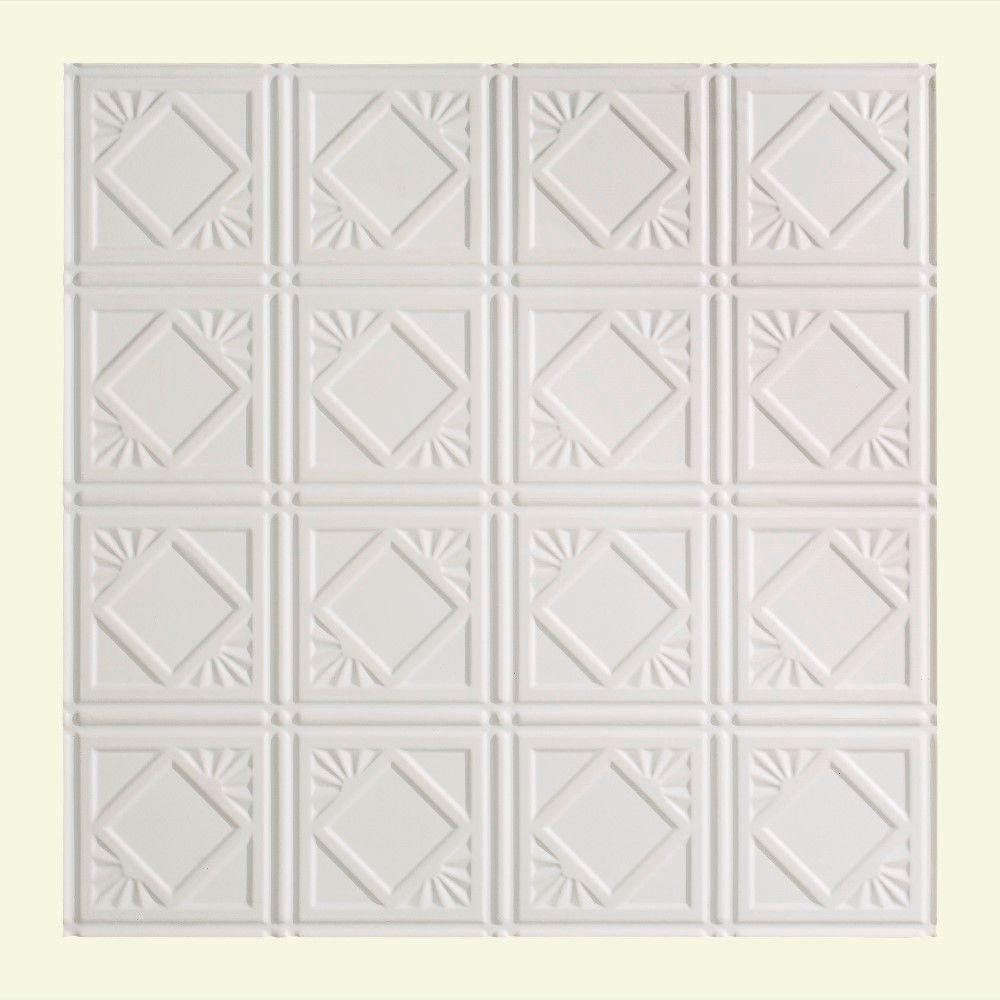 Traditional 4 - 2 ft. x 2 ft. Lay-in Ceiling Tile