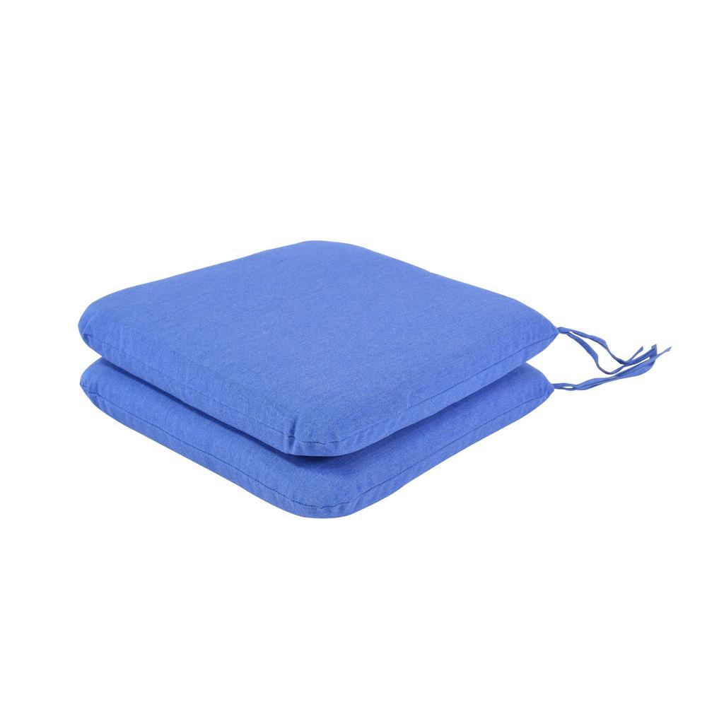 Pacifica Premium Lapis Seat Pad Cushion (Set of 2)