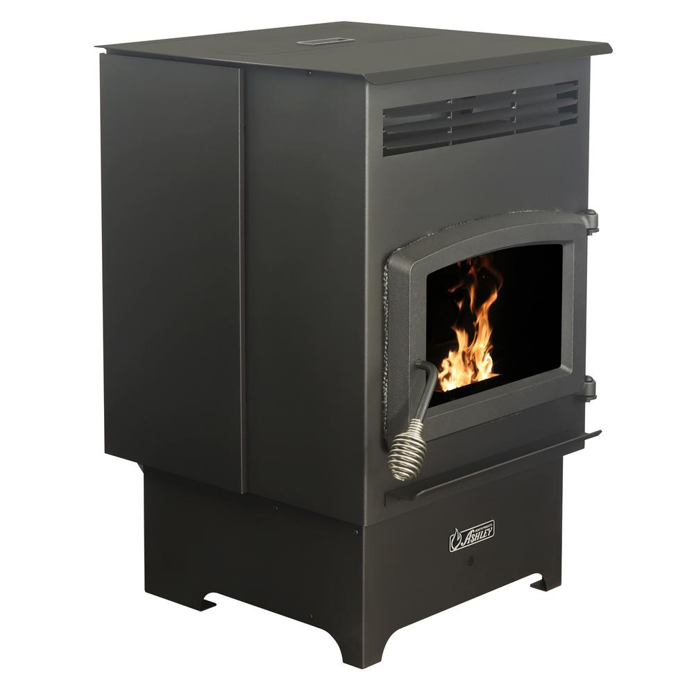 Ashley Hearth Products 2,200 sq. ft. EPA Certified Pellet Stove with 60 lbs. Hopper