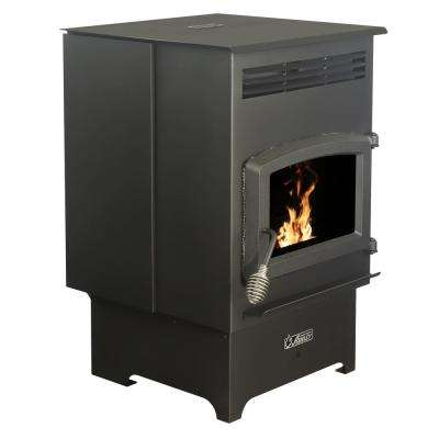 2,200 sq. ft. EPA Certified Pellet Stove with 60 lbs. Hopper