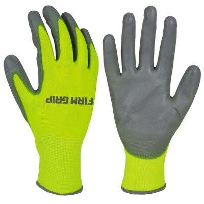 Touchscreen High Visibility PU Dipped Gloves (10-Pair)