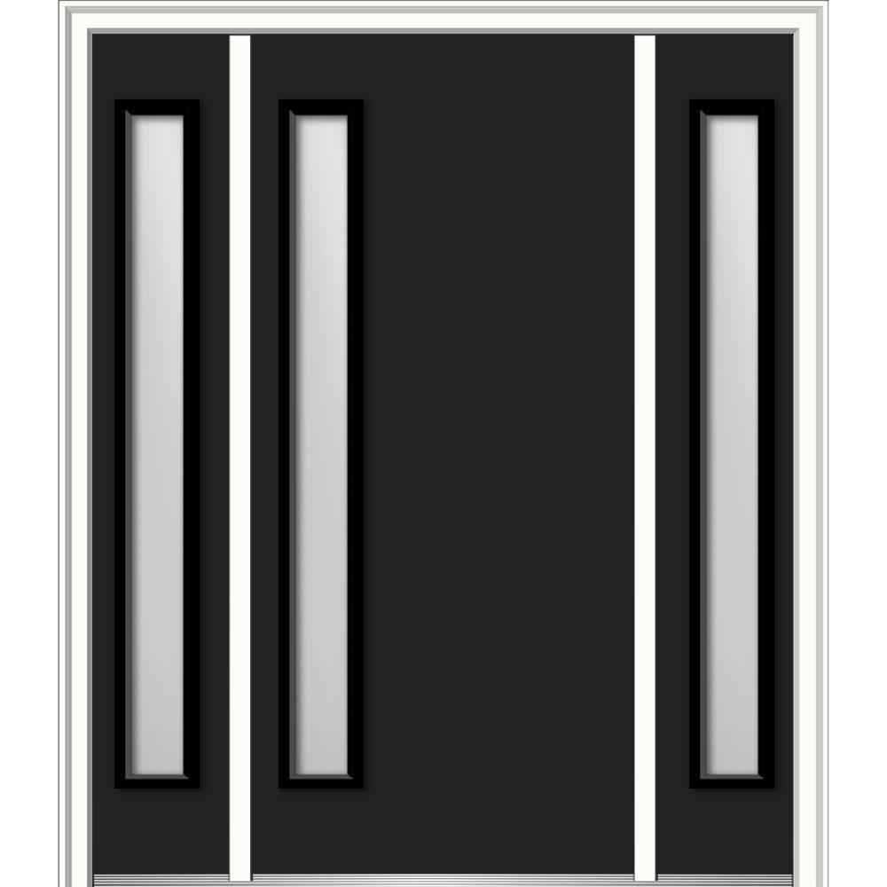 60 x 80 - Modern - Black - Front Doors - Exterior Doors - The Home Depot