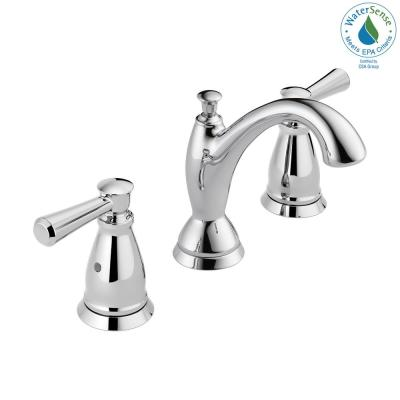 Linden 8 in. Widespread 2-Handle Bathroom Faucet in Chrome