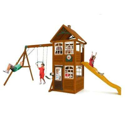 Willowbrook Wooden Playset / Swing Set