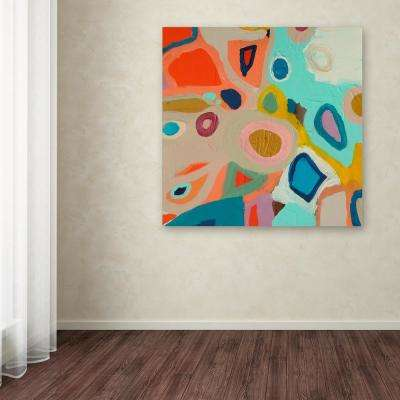 "18 in. x 18 in. ""Aerial"" by Sylvie Demers Printed Canvas Wall Art"