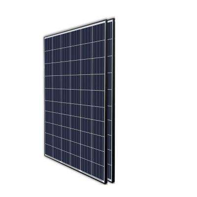 270-Watt 24-Volt Polycrystalline Solar Panel for Residential Commercial Rooftop Back-Up Off-Grid Application (Pack of 2)