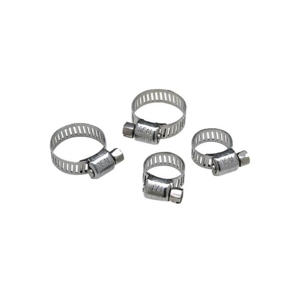 Hose Clamp Set in Stainless Steel