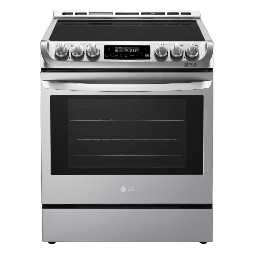 Stoves And Ovens ~ Lg electronics cu ft slide in electric range with