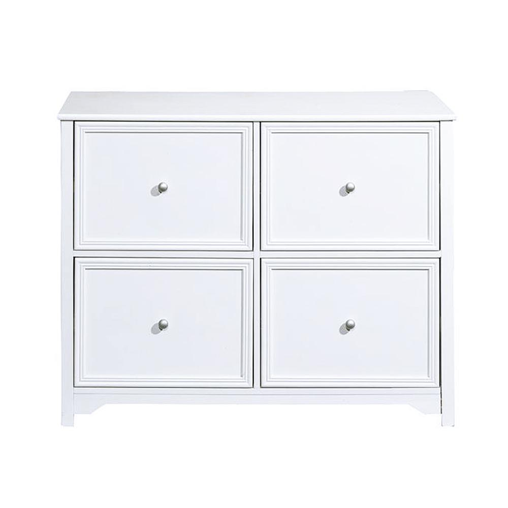 Home Decorators Collection Oxford White 4 Drawer File