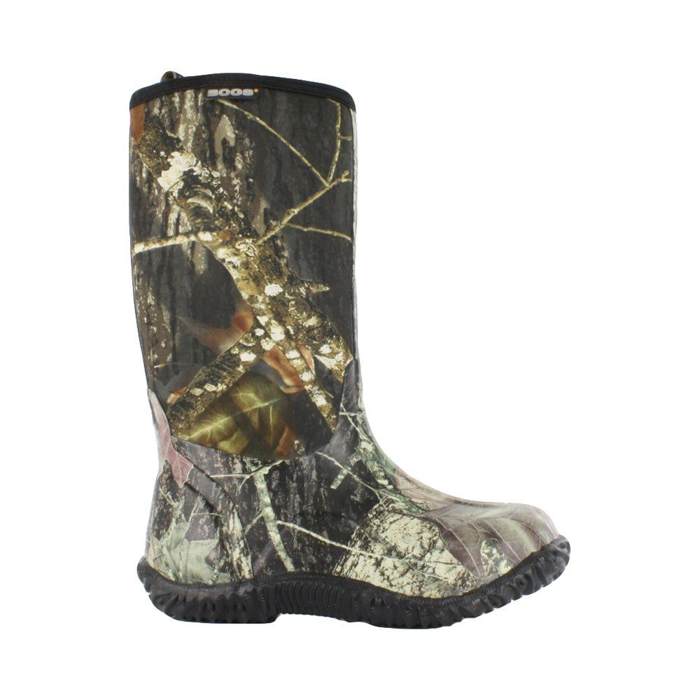 Classic Camo Kids 11 in. Size 10 Mossy Oak Rubber with