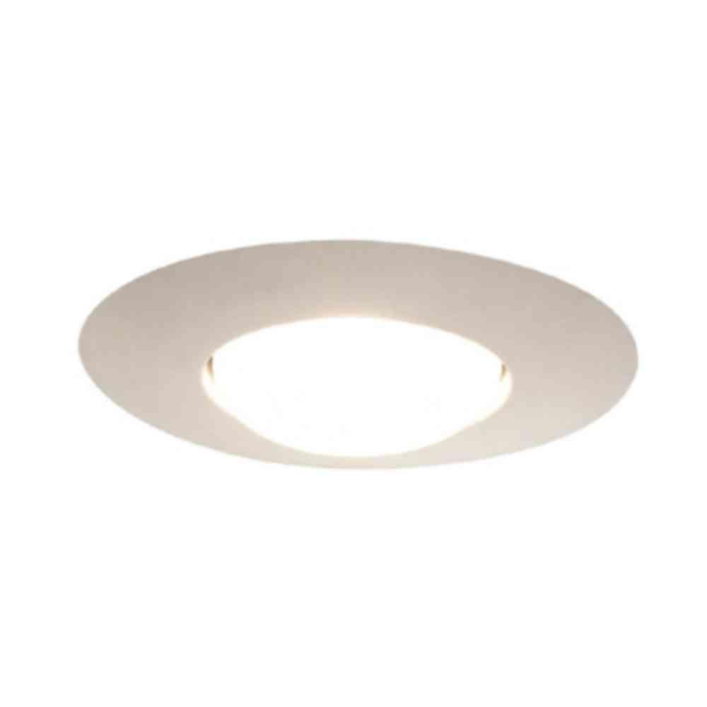 Halo 301 Series 6 in. White Recessed Ceiling Light Open Splay Trim