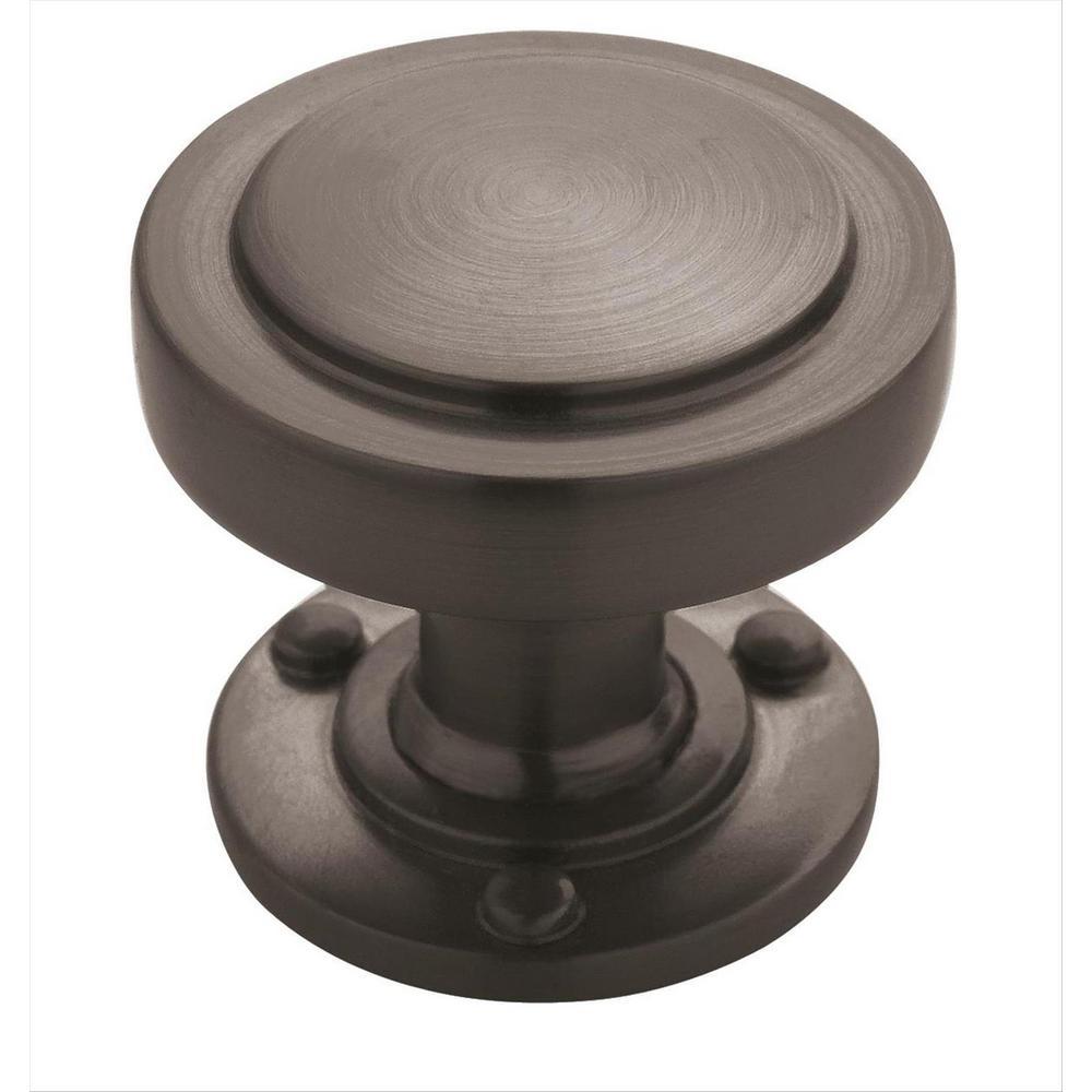 Rochdale 1-1/4 in (32 mm) Diameter Graphite Cabinet Knob