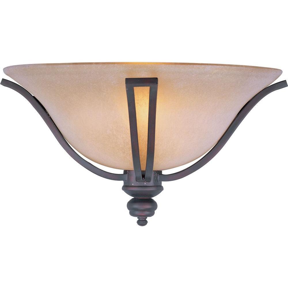 Maxim Lighting Madera 1-Light Oil-Rubbed Bronze Sconce