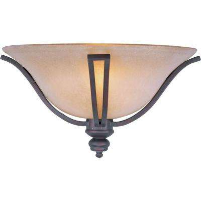 Madera 1-Light Oil-Rubbed Bronze Sconce