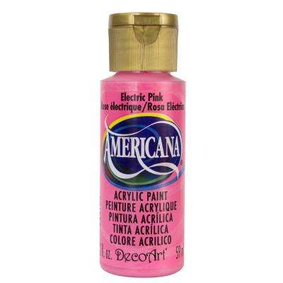 Americana 2 oz. Electric Pink Acrylic Paint