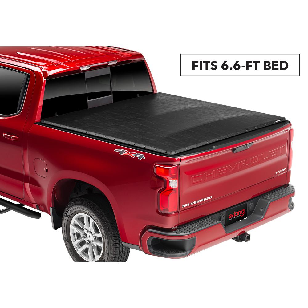 Extang Blackmax Tonneau Cover 05 11 Dodge Dakota 06 08 Mitsubishi Raider Ext Cab 6 6 Bed W Out Cargo Channel System 2760 The Home Depot