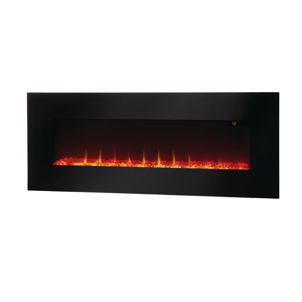 Home Decorators Collection Trinidad 42 In Wall Mounted Fireplace Hw9323br The Home Depot