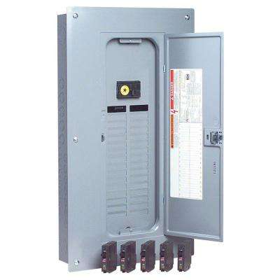 QO 100 Amp 32-Space 32-Circuit Indoor Main Breaker Load Center with Cover Value Pack