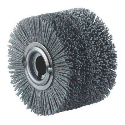 4 in. x 2 3/4 in. Plastic Wheel Brush