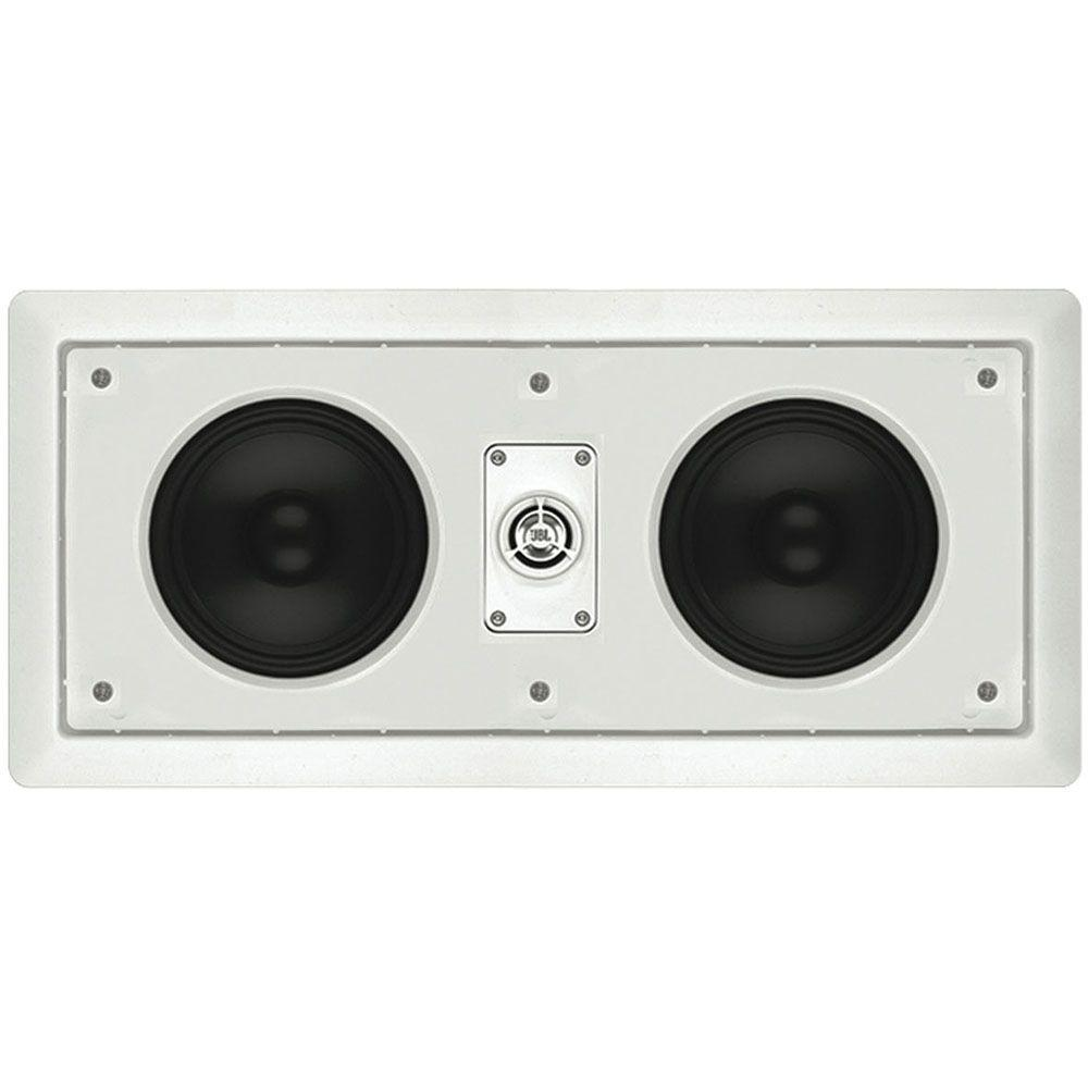 Leviton Architectural Edition Powered by JBL 80 Watt 2-Way In-Wall Center Channel Loudspeaker - White-DISCONTINUED