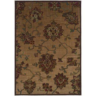 Promise Gold 5 ft. 3 in. x 7 ft. 6 in. Area Rug