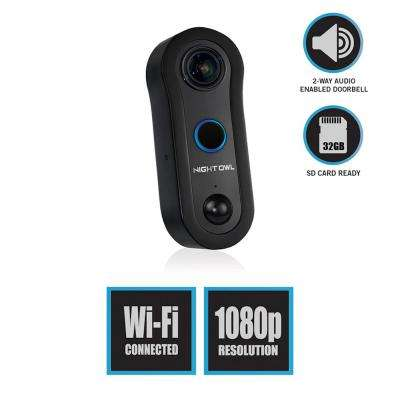 1080p Smart Wireless Doorbell with 32GB microSD Card