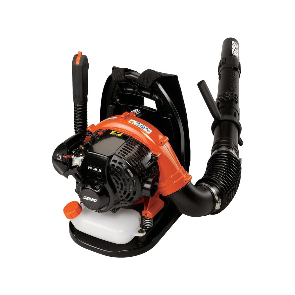 ECHO 158 MPH 375 CFM 25.4 cc Gas 2-Stroke Cycle Backpack Leaf Blower with Hip Throttle