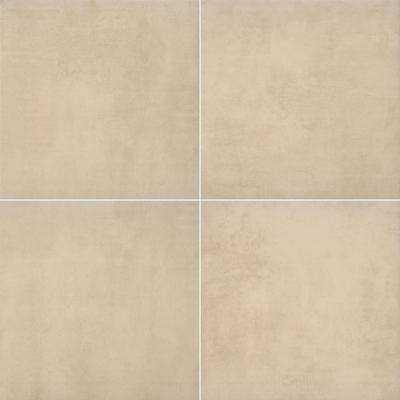 Argento Travertino 24 in. x 24 in. Matte Porcelain Paver Floor and Wall Tile (14 pieces / 56 sq. ft. / pallet)