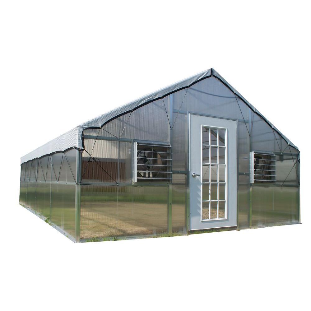 Riverstone 16 ft. x 24 ft. Jefferson Premium Educational Greenhouse