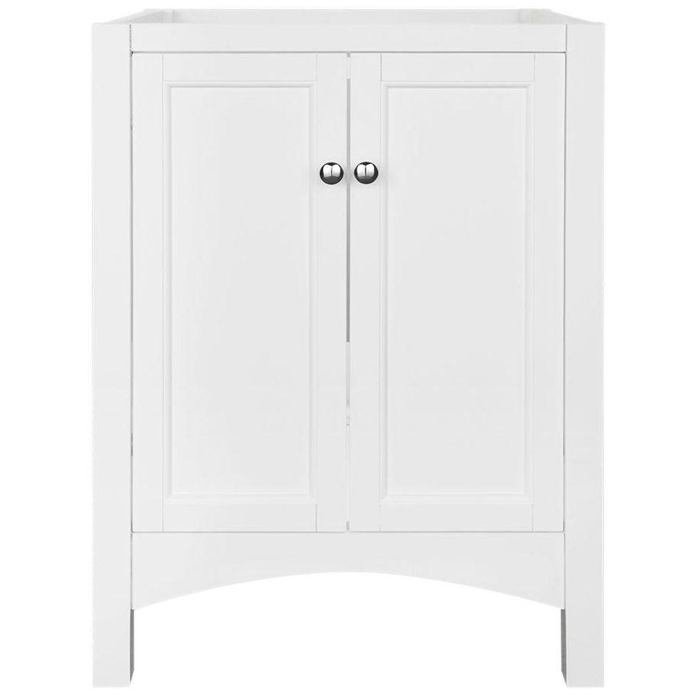 Home Decorators Collection Haven 24 In W X 18 In D X 34 In H Vanity Cabinet Only In White