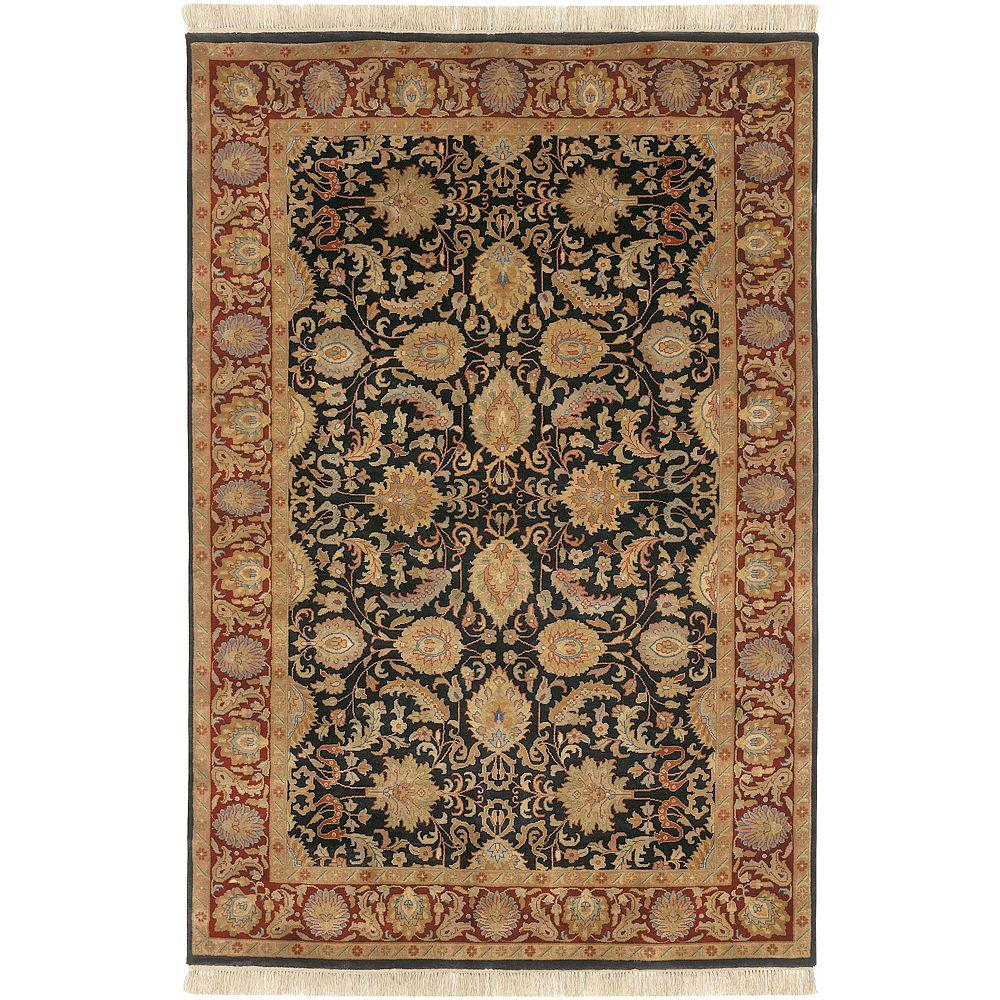 Artistic Weavers Lehi Black 8 ft. 6 in. x 11 ft. 6 in. Area Rug