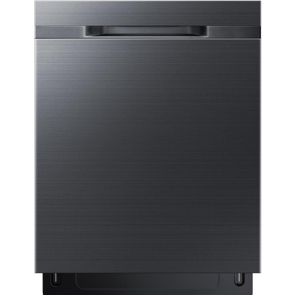 24 in Top Control StormWash Dishwasher in Fingerprint Resistant Black Stainless with AutoRelease Dry, 48 dBa