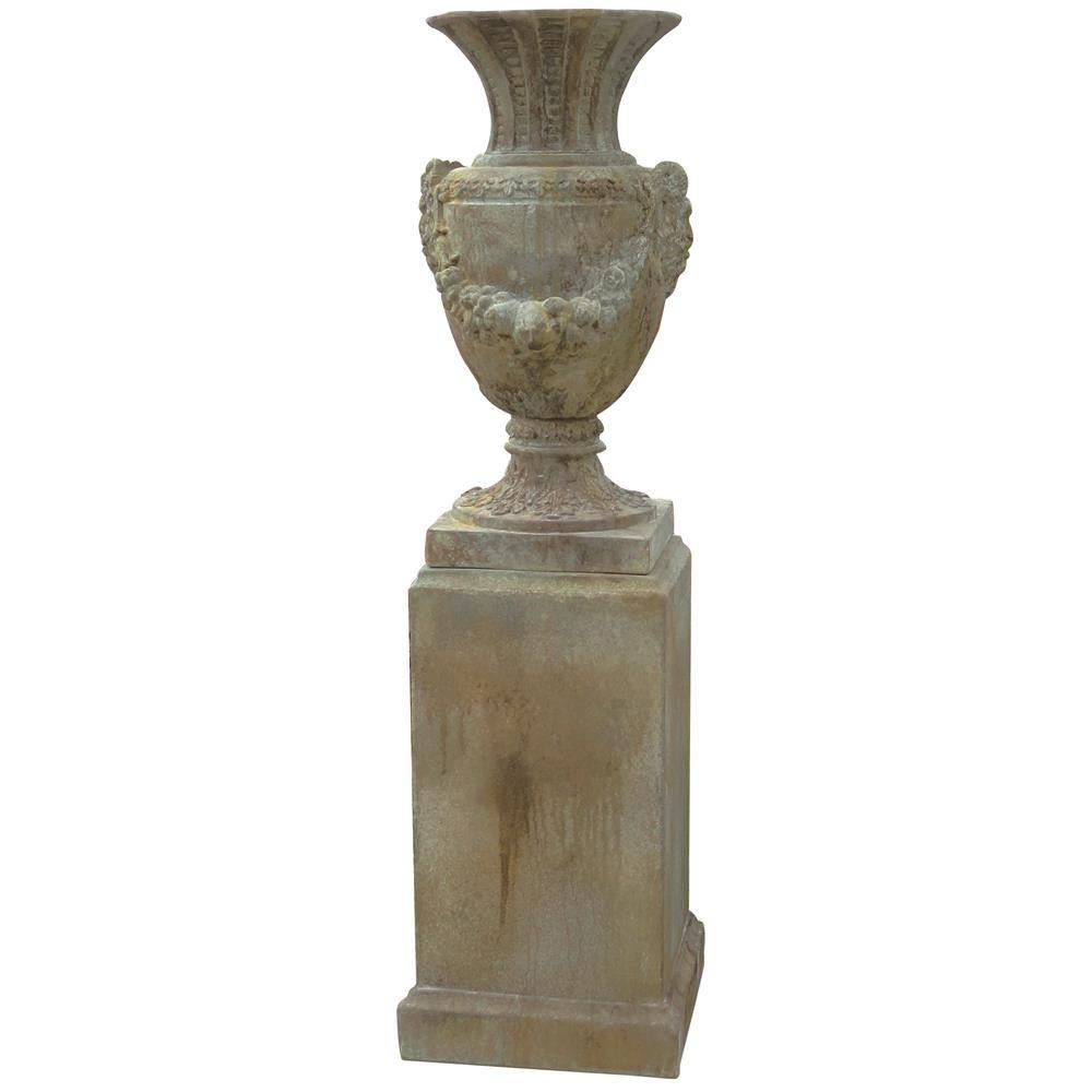 pin in planters tall bordeaux mayne patio pedestal planter