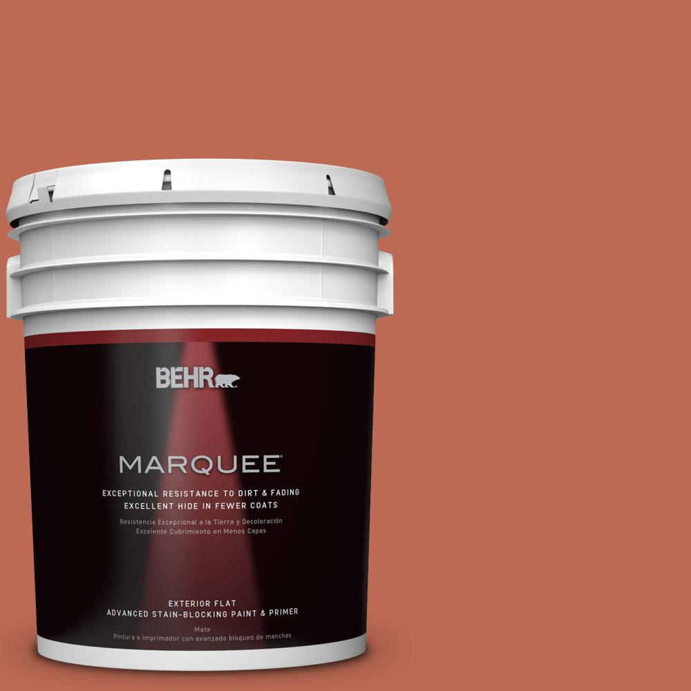 Home Decorators Collection 5-gal. #HDC-FL13-3 Warm Cider Flat Exterior Paint