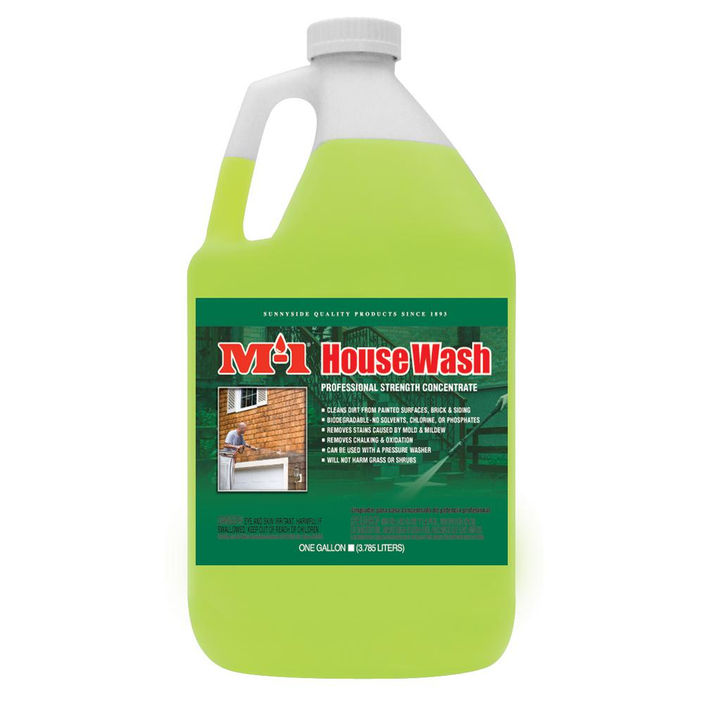 M 1 1 Gal House Wash All Purpose Cleaner Hw1g The Home Depot