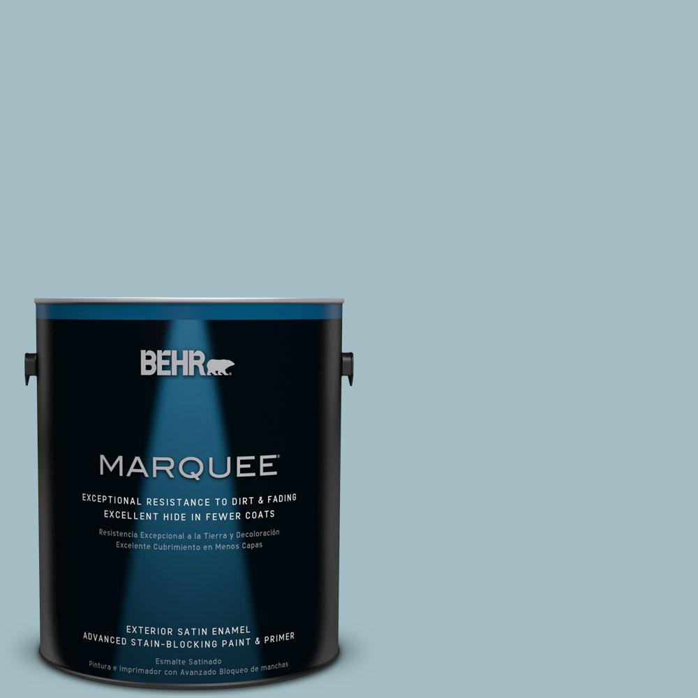BEHR MARQUEE 1-gal. #PPU13-11 Clear Vista Satin Enamel Exterior Paint