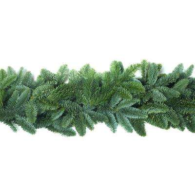 15 ft. Fresh Noble Fir Garland with Natural, Fragrant, Long-Lasting Cuttings