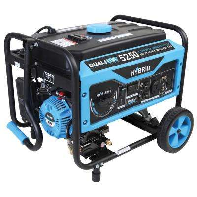 4,250/3,850-Watt Dual Fuel Gasoline/LPG Powered Portable Generator