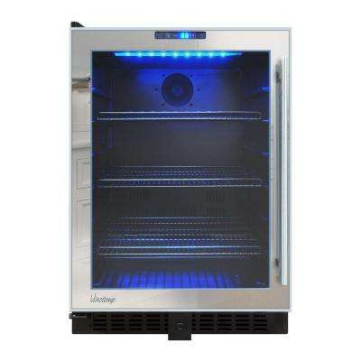 23.5 in. 120 (12 oz.) Mirrored Touch Screen Beverage Cooler