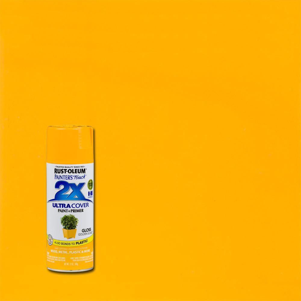 Rust-Oleum Painter's Touch 2X 12 oz. Golden Sunset Gloss General Purpose Spray Paint