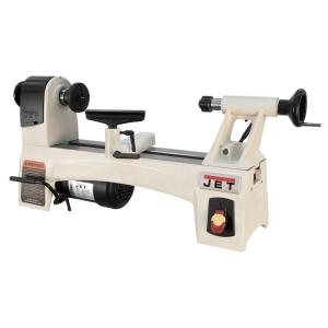 Jet 1 HP 12 in. x 21 in. Wood Lathe, Variable Speed, 115-Volt,  JWL-1221VS-719200 - The Home Depot