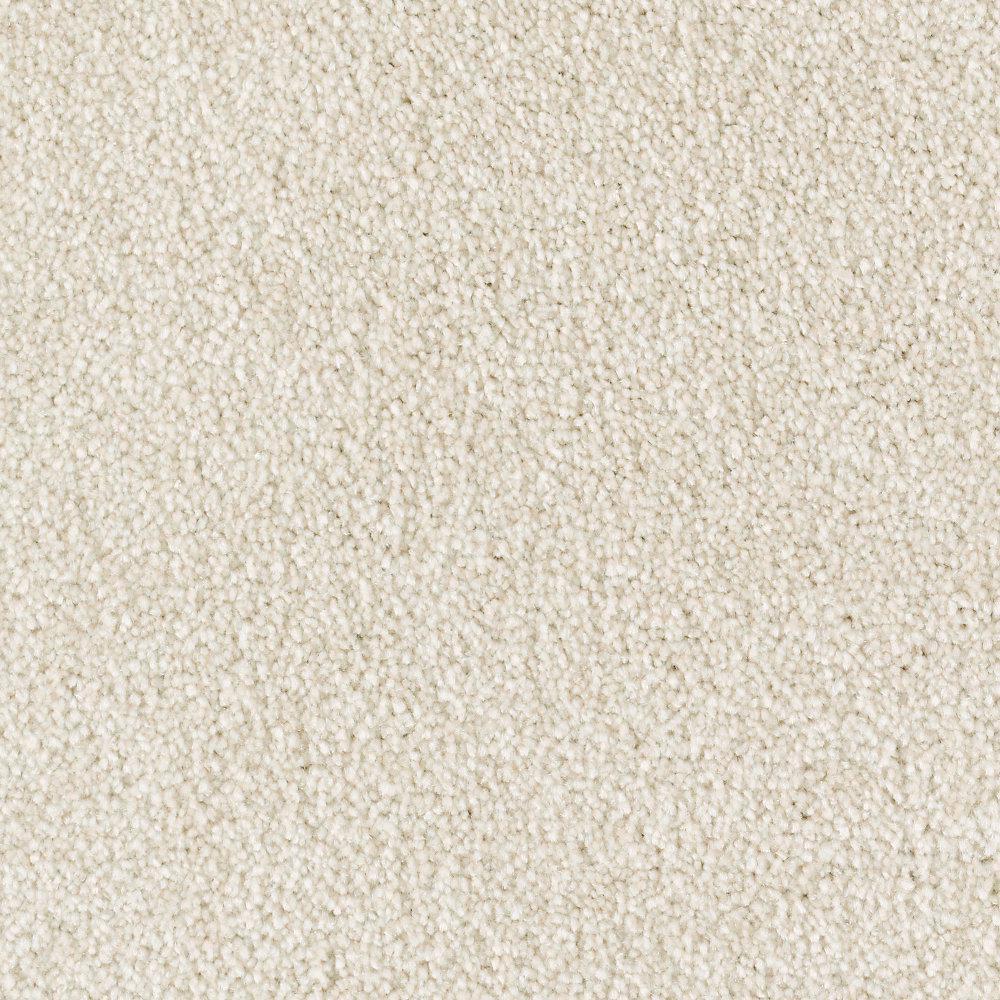 Carpet Sample - Tides Edge - Color Sandlot Textured 8 in. x 8 in.