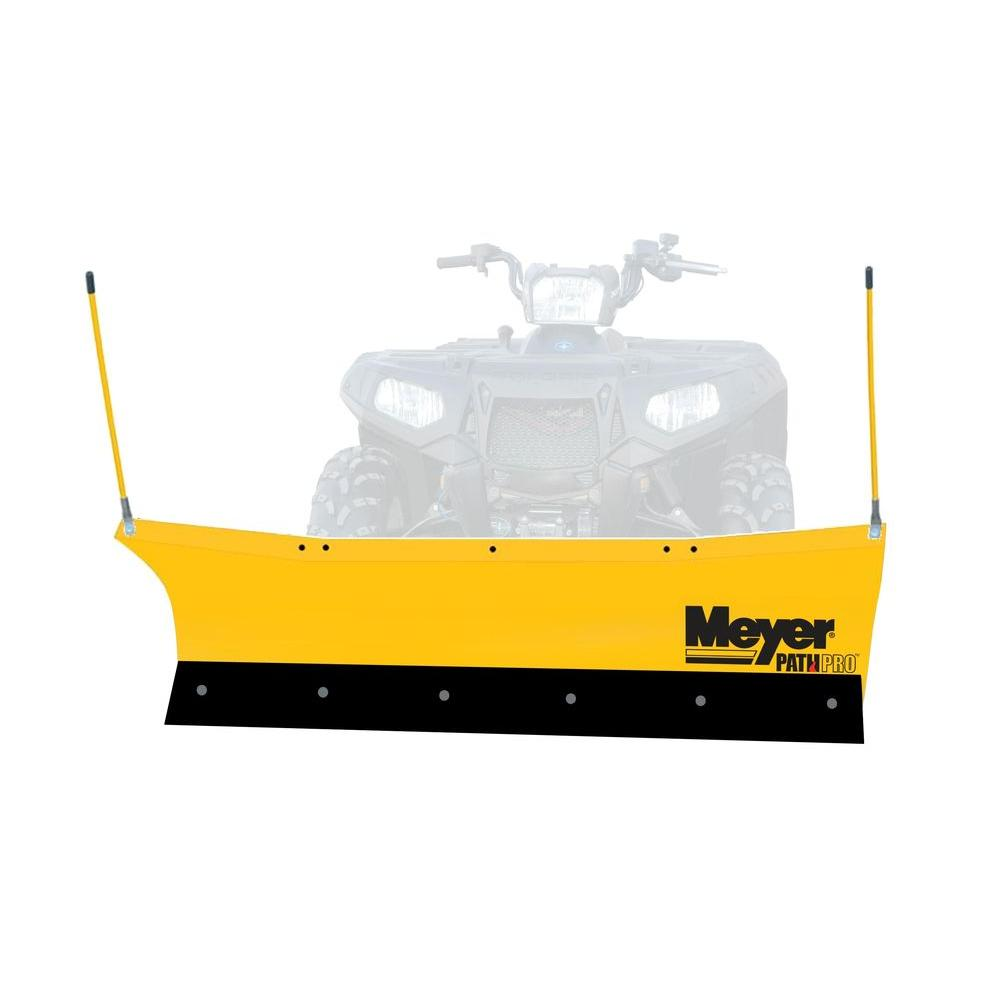 Meyer Path Pro 60 in. ATV Plow with Patented Self Angling System -- DISCONTINUED