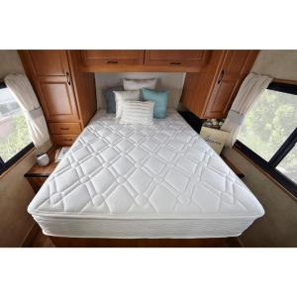 Zinus Deluxe Spring Pillow Top 10 In Short Queen Rv Mattress Hd Spp 10sq The Home Depot