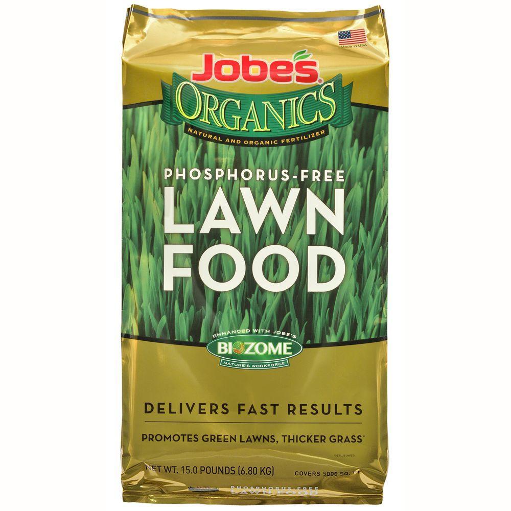 15 lb. 5,000 sq. ft. Organic Lawn Fertilizer