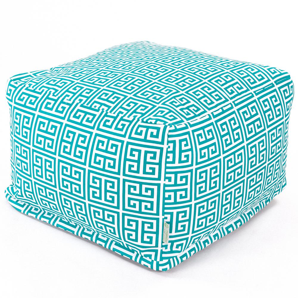 Majestic Home Goods Pacific Towers Indoor/Outdoor Ottoman Cushion