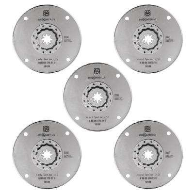 4 in. HSS Saw Blade Starlock Plus (5-Pack)