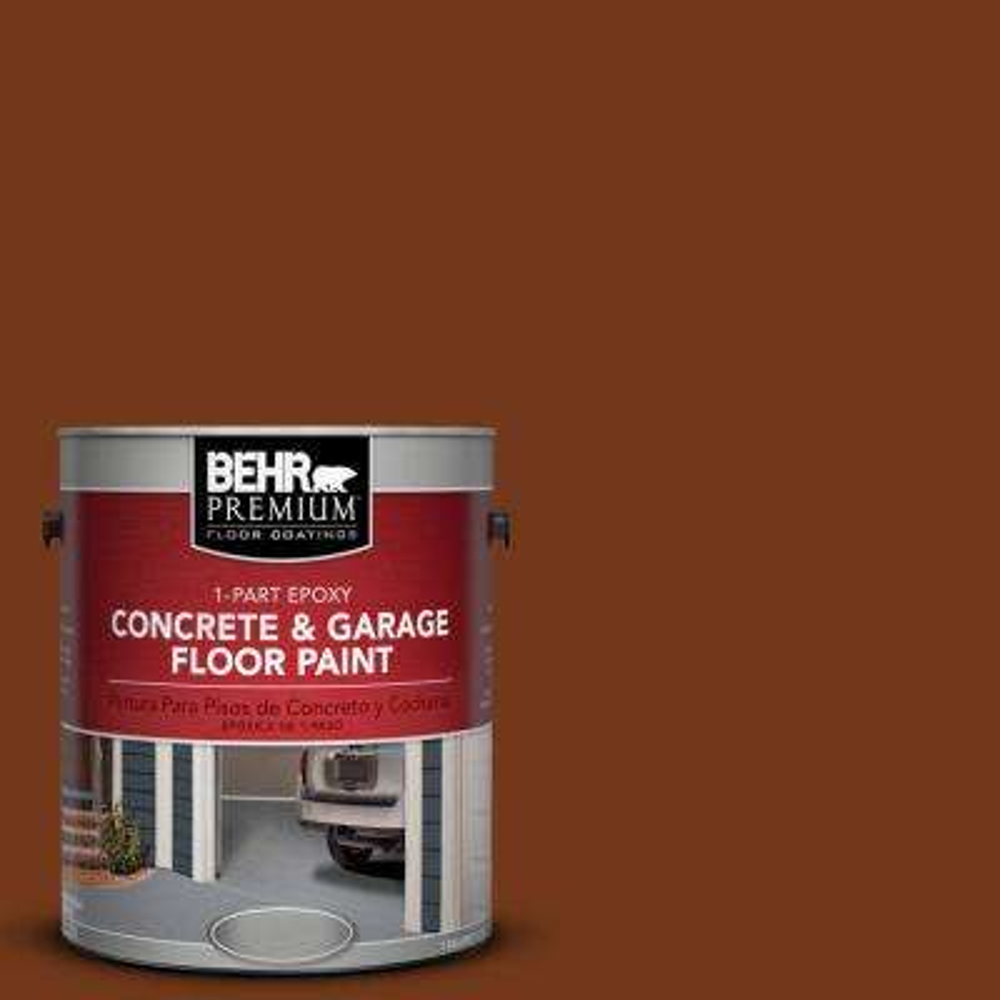 1 gal. #SC-130 Calif Rustic 1-Part Epoxy Concrete and Garage Floor Paint